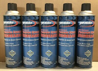 5 Pack Pronto VOC Compliant Foaming Engine Degreaser For Auto, Marine & Tractors