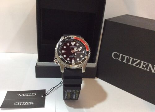 CITIZEN PROMASTER AUTOMATIC DIVER WATCH NY0085-19E  JAPAN MO