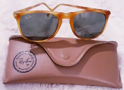 Vintage B&L RAY BAN Bausch & Lomb Tortoise Frame Traditional Style with Case (Vintage Style Ray Bans)
