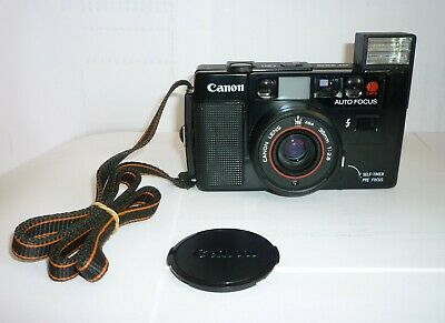 Canon AF35M Auto Focus Point & Shoot 35mm Film Camera with 38mm F/2.8 Lens