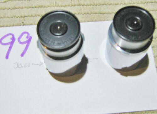 #99 Leitz Wetzlar 18x G Microscope Eyepiece Oculars