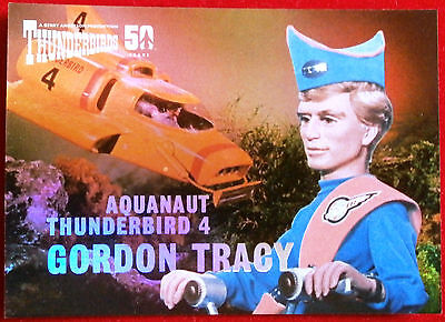 THUNDERBIRDS 50 YEARS - FOIL CHASE CARD - F7 - GORDON TRACY - Unstoppable Cards