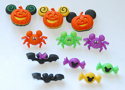 Mickey & Minnie Halloween / Disney Collection Dress It Up Buttons /Pumpkin~Candy