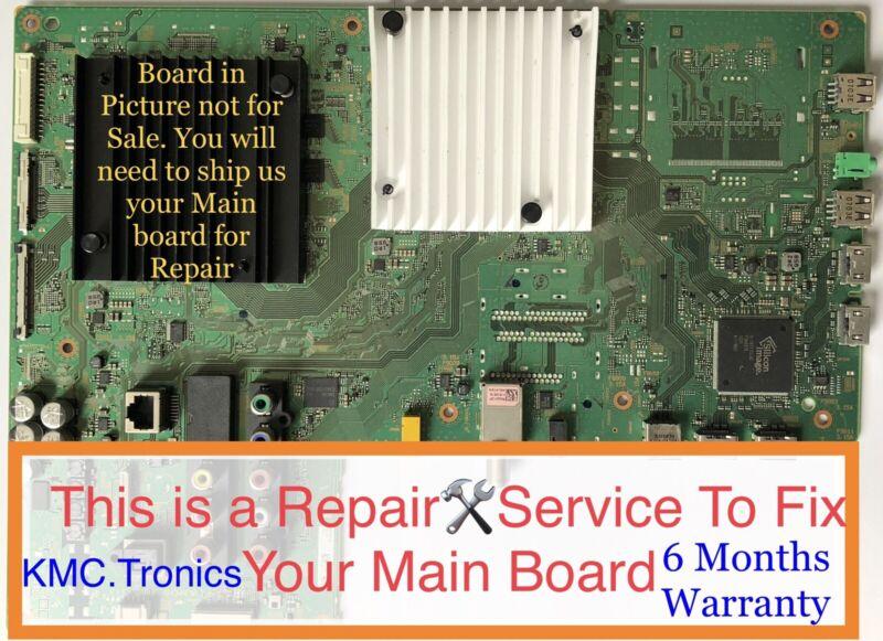 Repair🛠Service For Sony XBR-65X850C Main Board A2072607B,1-894-596-22,189459622
