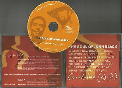 Fishbone THE SOUL OF JOHN BLACK Scandalous 2003 PROMO DJ CD Single USA Everlast
