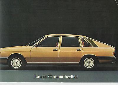 1977 Lancia Gamma berlina & coupé brochure