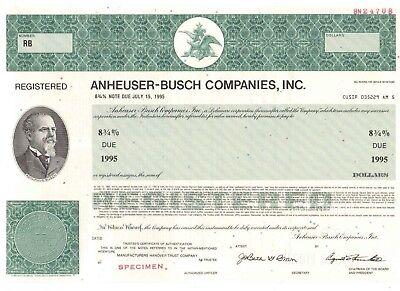 Anheuser Busch Companies Inc  Budweiser  Brauerei