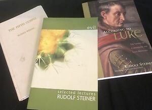 Lot of 3 Rudolf Steiner Books (Waldorf)