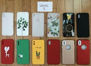 iPhone 6/6s/6s+/7/7+/8/8+/ 10 Accessory_Cases, Screen Protectors