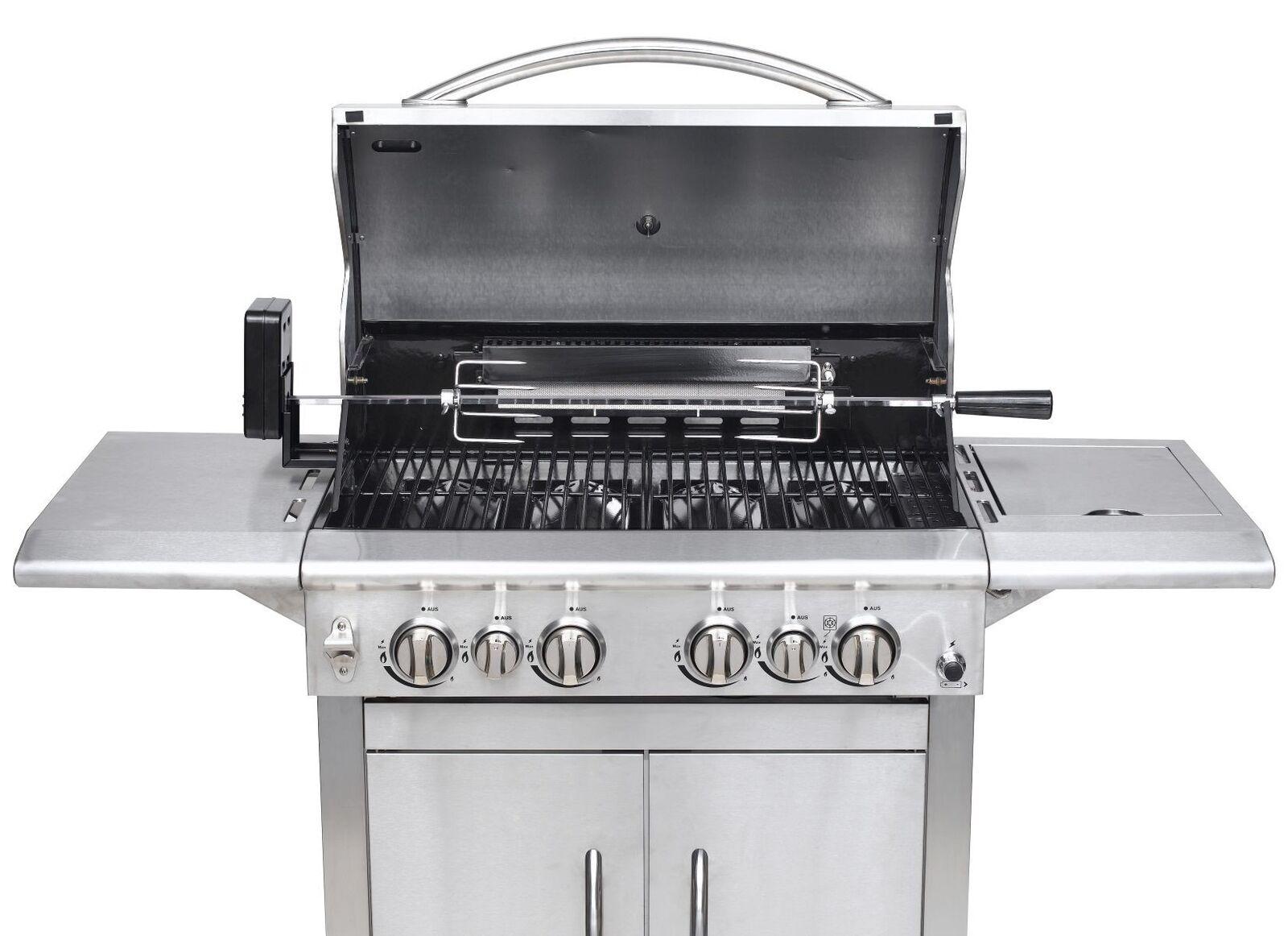 Test Gasgrill Jackson 4 : Riesen grill test vergleich riesen grill günstig kaufen!