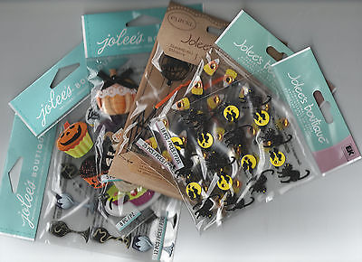 Jolee's HALLOWEEN themed embellishment stickers~BNIP~CUTE! Quick Ship!  - Quick Halloween Crafts
