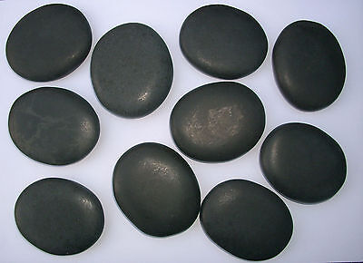HOT STONES Basalt PROFI Massagesteine Wellnessmassage Wärmetherapie Heiße Steine