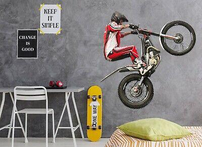 3D Mountain Bike M161 Auto Wallpaper Wandbild Poster Wandaufkleber Transport An
