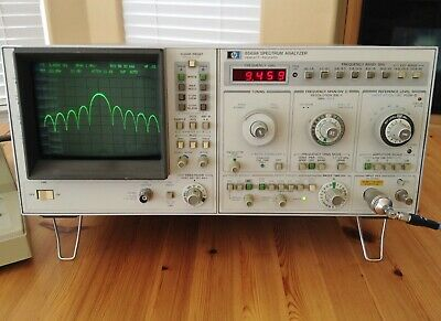 Hp 8569a Microwave Spectrum Analyzer 0.01-22ghz Fully Tested And Working Well