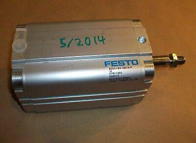 Festo Pneumatic Cylinder Advu-63-100-a-p-a
