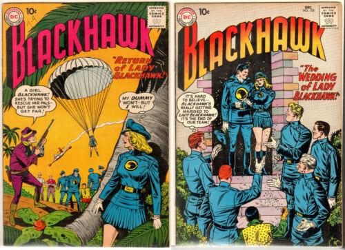 Lot 2: Blackhawk 140 7.5 (2nd Lady Blackhawk) 1959  & Blackhawk 155 8.0 (1960)