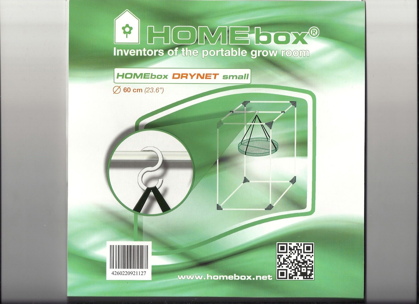 Homebox Small Plant Dry Drying Net Rack 1 Tier Hydroponics