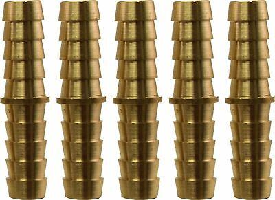 38 Hose Barb X 38 Hose Barb Brass Hose Splicer Pack Of 5