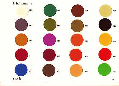 Buchbinder-Leinen/Buchleinen IRIS 1 m x 1 m Farbe frei wählbar