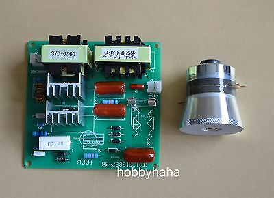 New 1pcs Ac220v Power Driver Board 1pc 50w 40khz Ultrasonic Transducer Cleaner