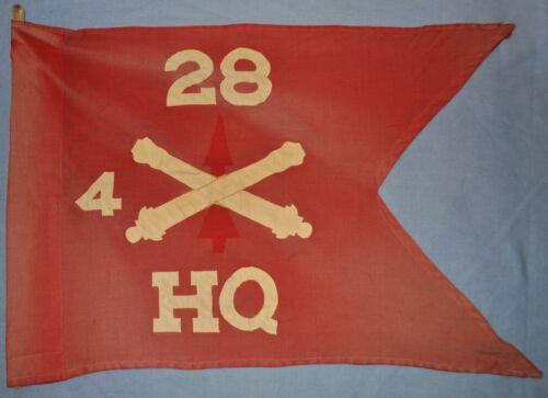 4th Bn., 28th Field Artillery Guidon (on Former Air Defense Artillery Guidon)