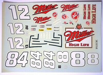 FANTASY BUILD DECAL # 1 #2 #12 #84 #8 #21 MILLER HIGH LIFE