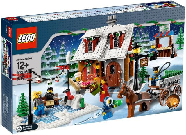 LEGO® Creator - Weihnachtsbäckerei 10216 Winter Village Bakery NEU & OVP