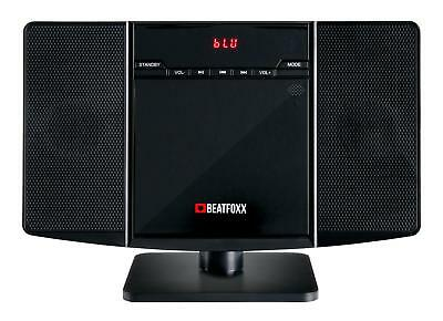 Klasse Vertikal MP3 CD Player Musikcenter mit Bluetooth, Radio & AUX-Eingang