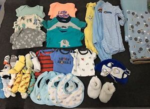 Baby Boy clothes Lot (NB and 0-3 months)