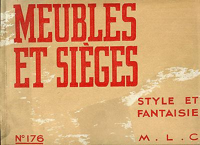 █► Französische Art Deco Alter Möbelkatalog 1930er Jahre ORIGINAL! (5)