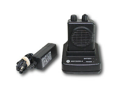 Motorola Minitor V 5 Vhf Pager 159-167 Mhz Single Channel Stored Voice