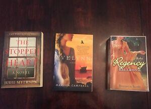 Novels. Like NEW. $2 each