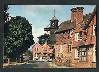C1970s View: Cars, Houses & Abinger Hammer, Surrey