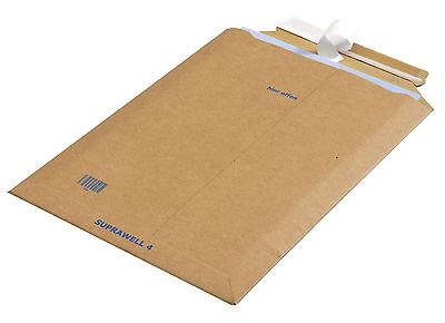 FREI HAUS: 100 Papp-Versandtaschen SUPRAWELL SW40 - 250 x 353 x 25 mm