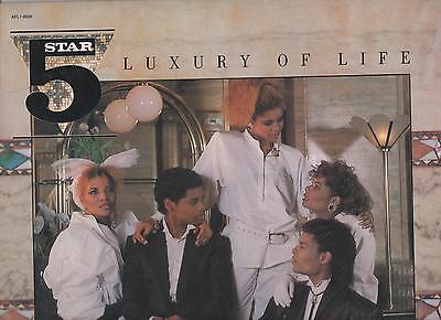 Five Star Luxury of Life 1985 Vinyl LP All Fall Down, Let Me Be The One