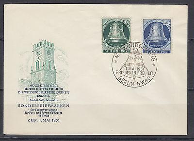 Berlin 76 und 78 auf FDC Ersttagsbrief