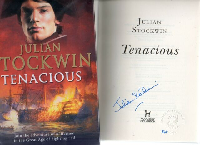 SIGNED JULIAN STOCKWIN TENACIOUS LIMITED FIRST EDITION NO.848/1000 HB DJ 2005