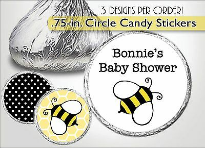 BUMBLE BEE Hershey Kiss Labels-Baby Shower Favor, First/1st Birthday, Honeycomb
