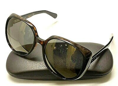 MARC BY MARC JACOBS MJ564 KMSHJ Brown Tortoise Plastic Women's Sunglasses ITALY