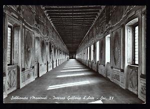 SABBIONETA-MANTOVA-CARTOLINA-INTERNO-GALLERIA-D-039-ARTE-FG-N-ASS-PRO-LOCO-PELLONI