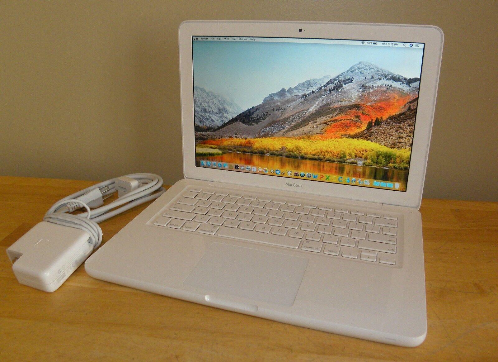 "Macbook - Apple Macbook 13"" A1342 Mid 2010 2.4GHz 250GB 4GB 10.13 High Sierra Office"