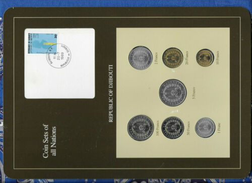 Coin Sets of All Nations Djibouti 1977 - 1986 UNC 50 Francs 1986