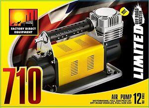 FDE 12v portable air compressor 4x4 4wd heavy duty off road. 160L/min