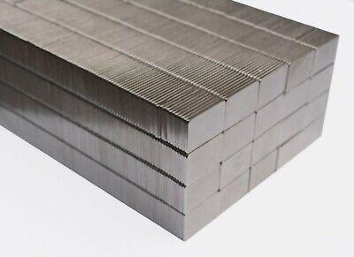 25 50100250pcs 13mm X 7mm X 1mm Nickel Coated Square Magnets N35 Neodymium
