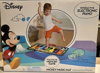 Mickey Mouse Disney Piano Music Mat Interactive Electronic Toy Brand New Sealed](Mickey Music Mat)