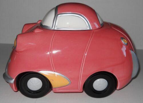 Car Cookie Jar Pink Coco Dowley Ceramic Whimsical International Corp