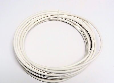 Automotive Wire 10 Awg High Temperature Gxl Wire White 25 Ft Made In U.s.a