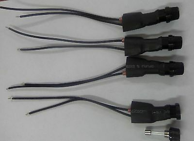 4 Qty AGC Fuse Holder Post Cable Assembly 10/15 Amp 250 V max ALCO ()