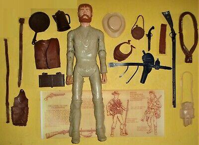 Custom Jeremiah Johnson Mountain Man, 17 Accessories Marx Johnny West Boone Buck
