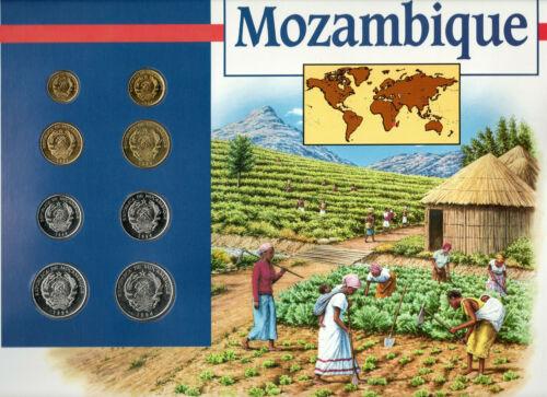 Coins of the World Mozambique 1,5,10,20,50,100,500,1000 Meticais 1994 BU*